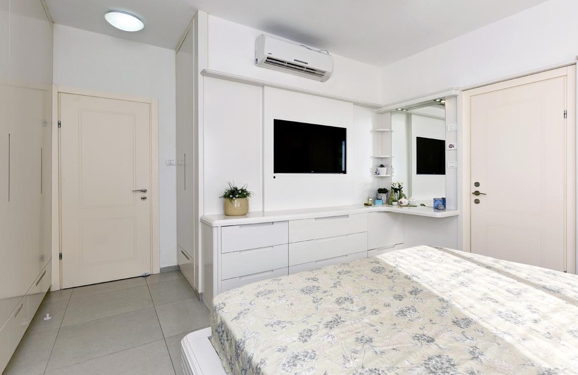 דירת 5 חדרים שהפכה ל4 חדרים