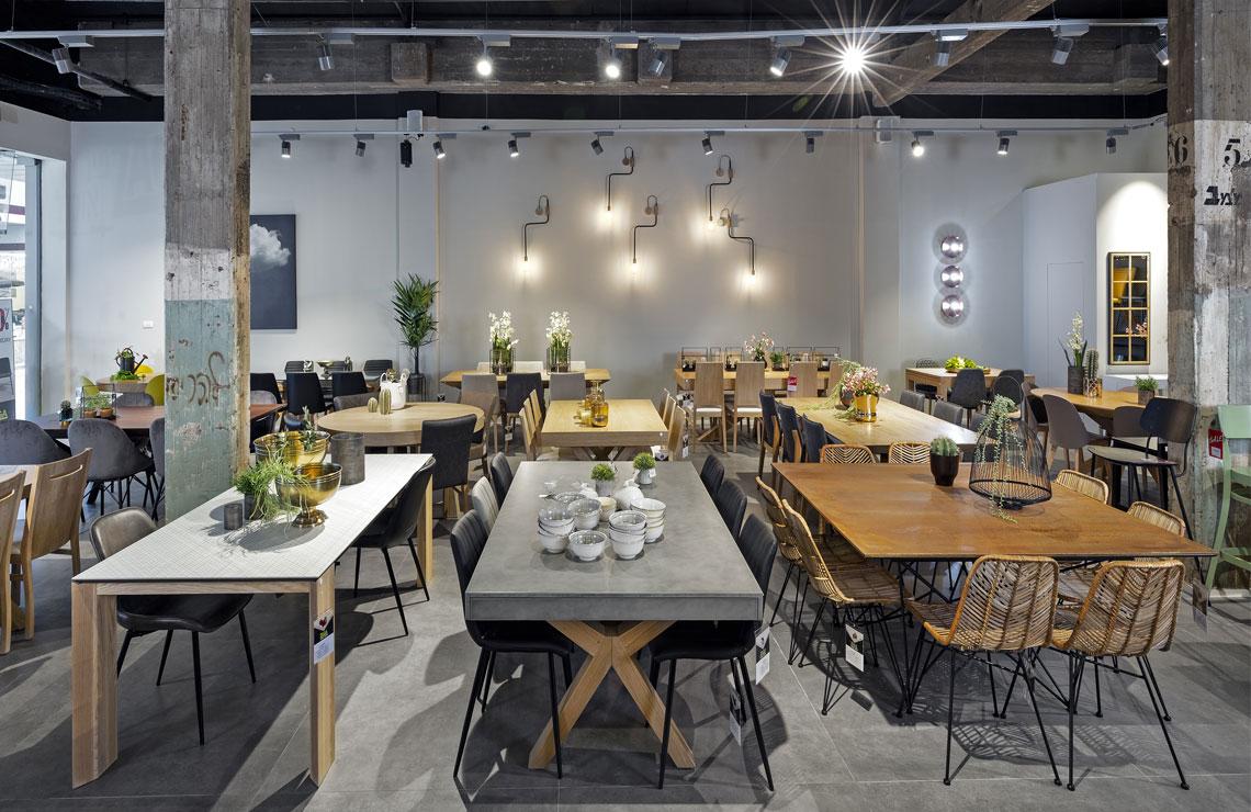 ZAGA פינות אוכל- עיצוב ומיתוג הרשת