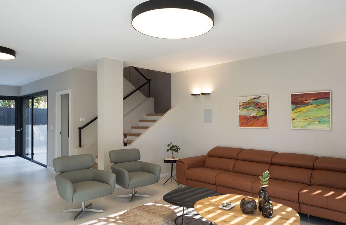 בית בעיצוב נקי ועוצמתי