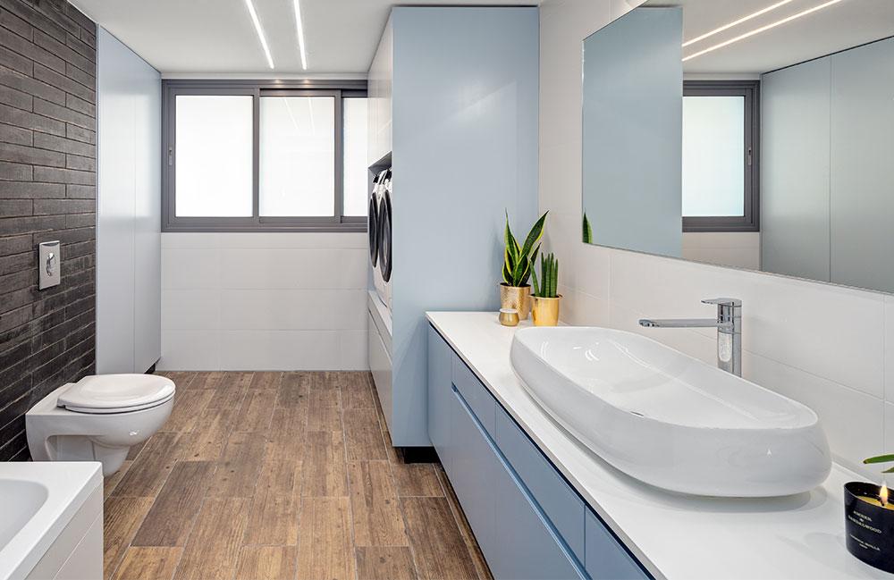 דירה קסומה שכיף לעבוד בה- ארון חדר כביסה